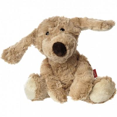 Peluche chien Sweety et sa boîte (27 cm) Sigikid