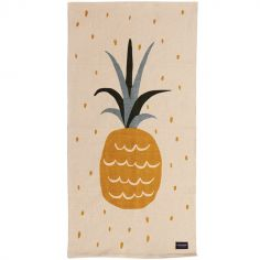 Tapis rectangulaire ananas (70 x 140 cm)