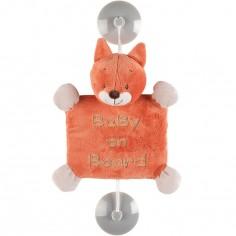 Bébé à bord Oscar le renard