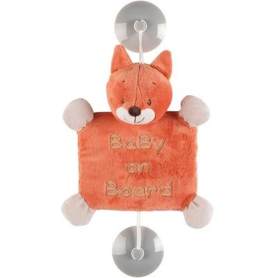 Bébé à bord Oscar le renard  par Nattou