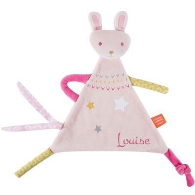 Doudou Z'anepasperdre lapin (personnalisable)
