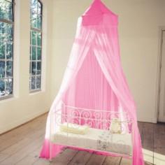 Moustiquaire pour lit fuchsia