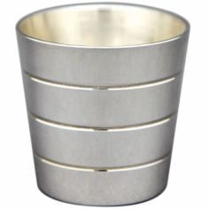 Coquetier Biarritz personnalisable (métal argenté)