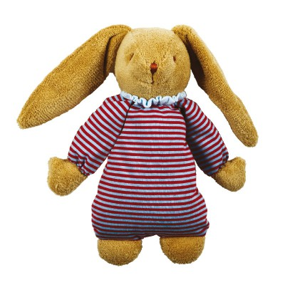 Lapin musical nid d'ange Rayures (25 cm) Trousselier