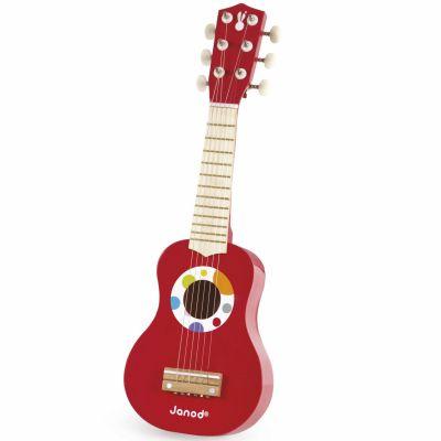 Guitare Ma première guitare Confetti  par Janod