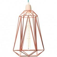 Lampe baladeuse Diamond 5 cuivrée