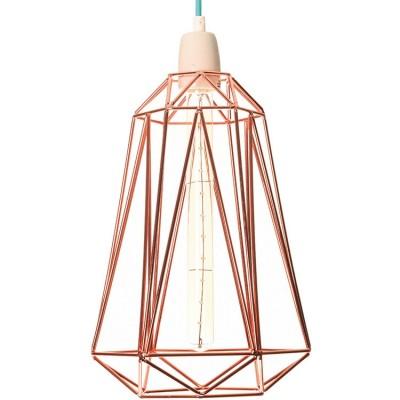 Lampe baladeuse Diamond 5 cuivrée  par FilamentStyle