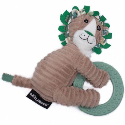 Anneau de dentition Jélékros le lion  par Les Déglingos