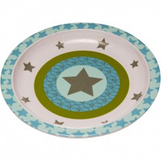 Assiette plate Starlight olive