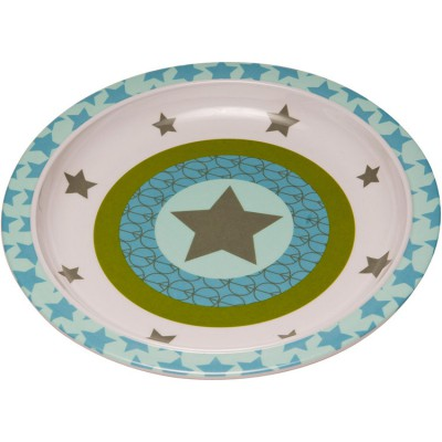 Assiette plate Starlight olive  par Lässig