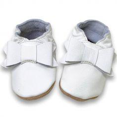 Chaussures de cérémonie à noeud (6-12 mois)