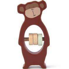 Hochet en bois singe Mr. Monkey