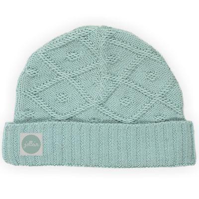 Bonnet Diamond knit vintage vert (6 mois) Jollein