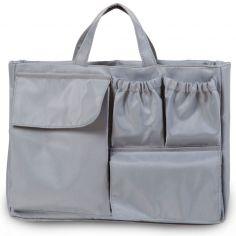 Pochette intérieure pour sac Mommy bag gris