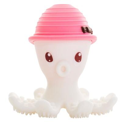 Pieuvre de dentition 3D Mombella rose  par BabyToLove