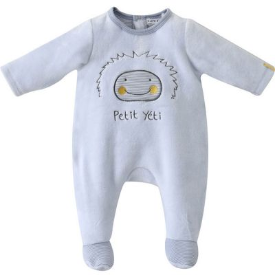 Pyjama Dors bien Petit Yeti ciel (18 mois) Sucre d'orge