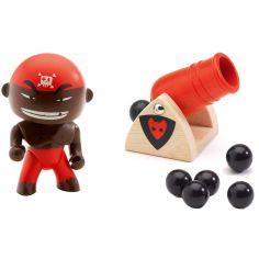 Figurine pirate Django & Big boom