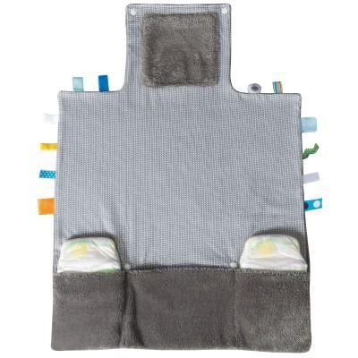 tapis langer easy changing storm grey snoozebaby. Black Bedroom Furniture Sets. Home Design Ideas