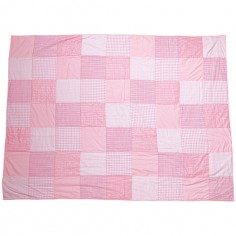 Couverture Patchwork rose (120 x 170 cm)