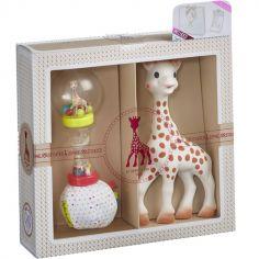 Coffret cadeau hochet Sophie la girafe