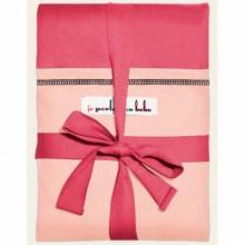 Echarpe de portage L Originale rouge pastèque poche rose lumière par Je  Porte Mon Bébé 4b2026d4721