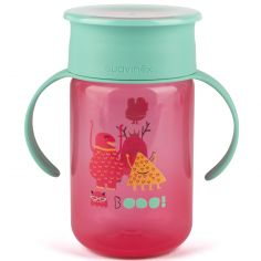 Tasse 360° Booo rose (340 ml)