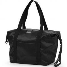 Grand sac à langer souple noir Black