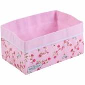 Panier de toilette Pink blossom (25 x 15 cm) - Little Dutch