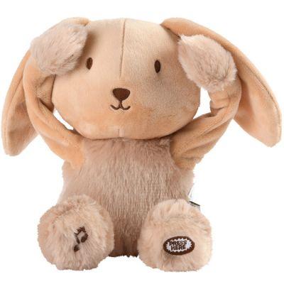 Peluche musicale Les doux Bidous Coucou Valentin le lapin (20 cm)  par Pioupiou et Merveilles