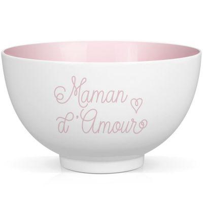 Bol en porcelaine Maman d'Amour