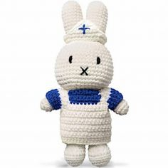 Peluche Miffy infirmière (25 cm)