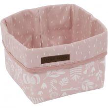 Panier de toilette Adventure pink (15 x 15 cm)  par Little Dutch