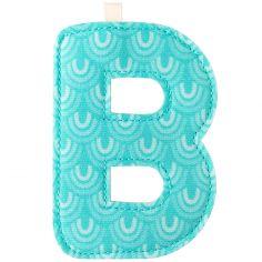 Lettre en tissu à suspendre B (9,5 cm)