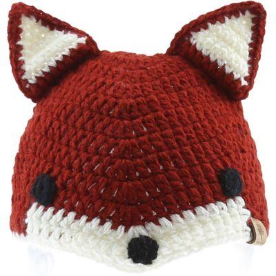 Bonnet en tricot renard (12-18 mois)