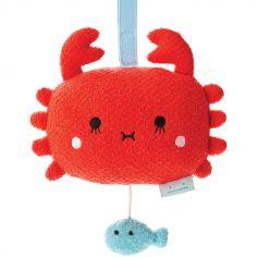 Peluche musicale à suspendre crabe Ricesurimi