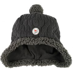 Bonnet polaire Hatter Empire anthracite (3-6 mois)