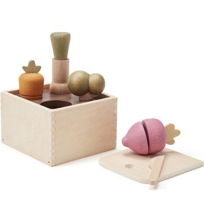 Jardinière en bois Bistro (8 pièces)  par Kid's Concept