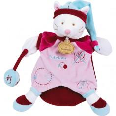 Doudou marionnette Catchou le chat (25 cm)
