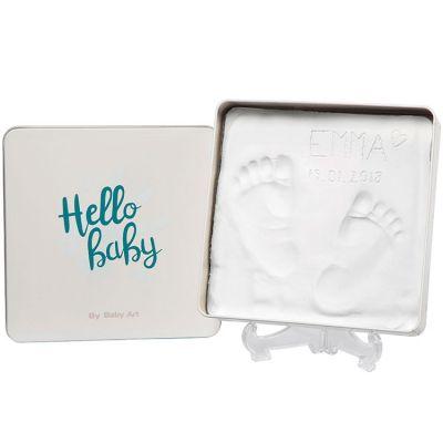 Boîte d'empreintes Magic box originale carrée  par Baby Art