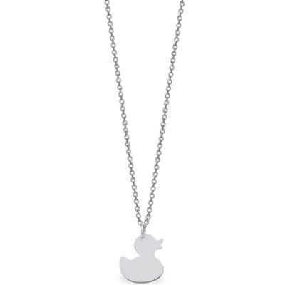 Collier Mini Coquine canard (argent 925°)  par Coquine