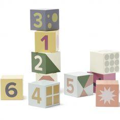 Cubes en bois Edvin (10 pièces)