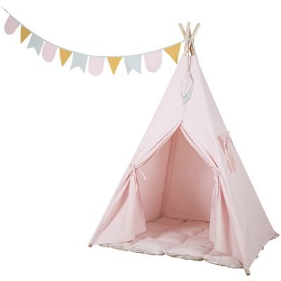 Tente de jeu tipi Adventure pink  par Little Dutch