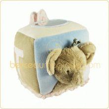 Cube d'activités éléphant et lapin  par Tartine et Chocolat