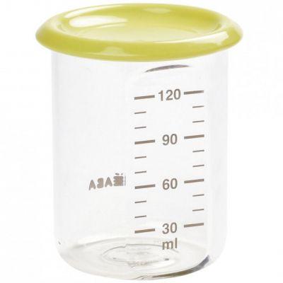 Pot de conservation Baby portion néon (120 ml) Béaba