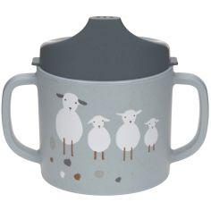Tasse à bec Tiny Farmer mouton et oie bleue