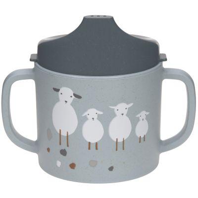 Tasse à bec Tiny Farmer mouton et oie bleue  par Lässig