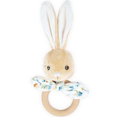 Anneau de dentition en bois lapin Justin Les Fripons  par Kaloo