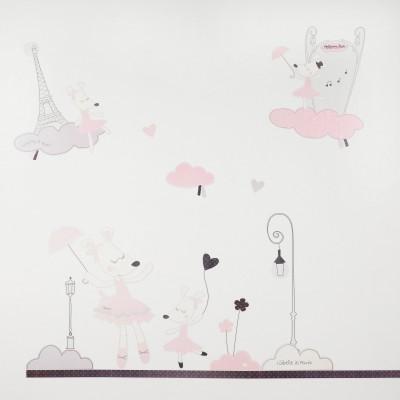 Sticker mural Lilibelle  par Sauthon Baby Déco