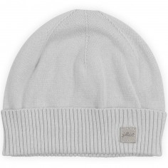 Bonnet en coton Pretty knit gris