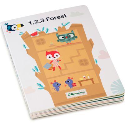 Mon premier livre puzzle 1,2,3 Forêt  par Lilliputiens